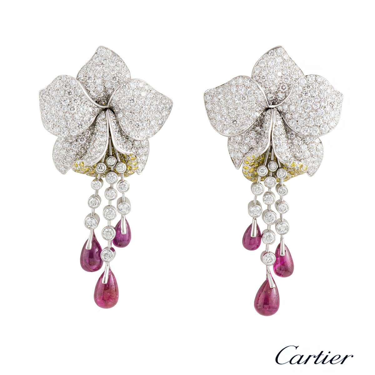 online vorra fashion cz earrings a buy platinum swarovski plated jewellery double product silver heart